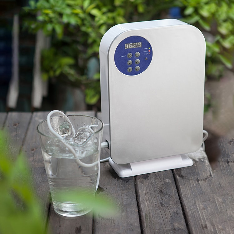озонування води і продуктів